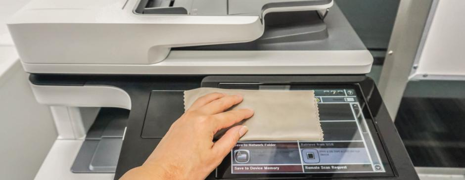 cleaning copier